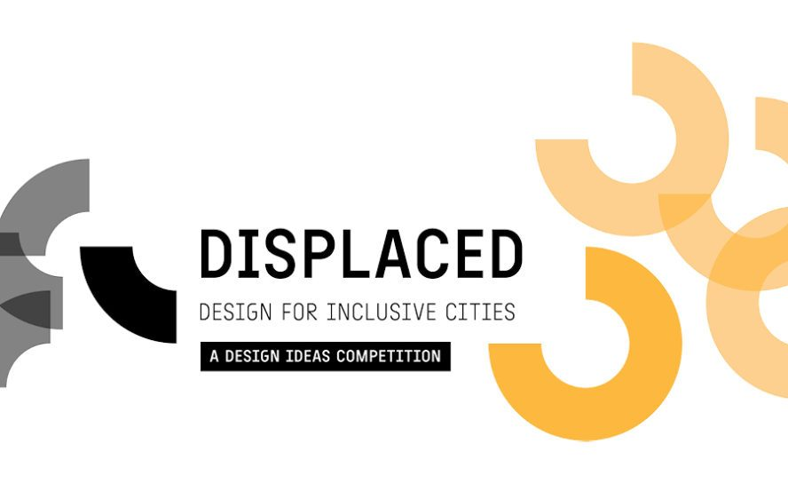 """""""Displaced"""" Competition branding"""
