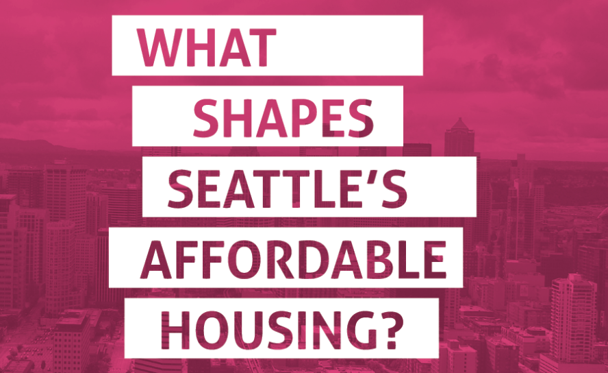 What Shapes Seattle's Affordable Housing graphic