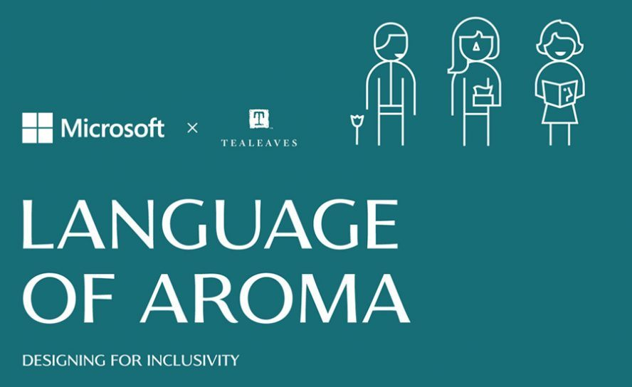 language of aroma screening graphic