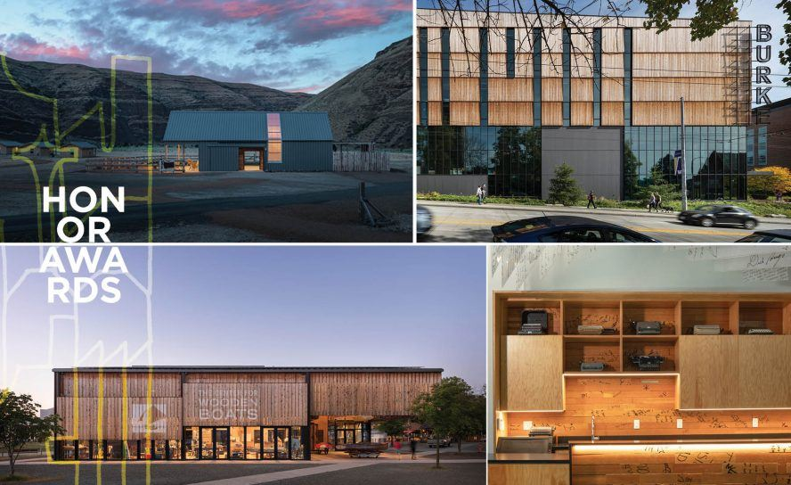 AIA Seattle Awards of Honor winners collage
