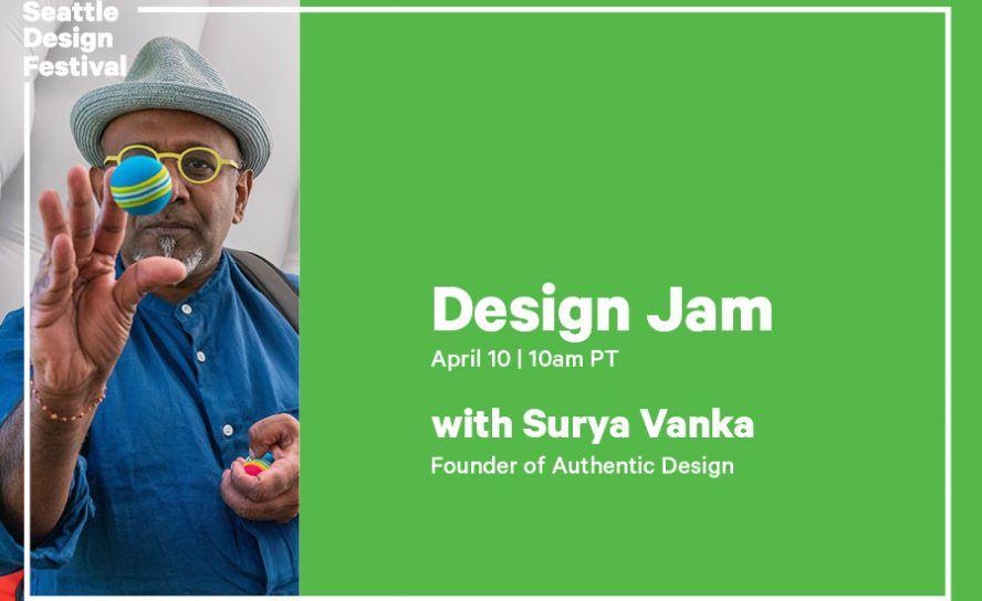 SDF Design Jam 2021 with Surya